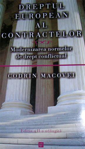 Dreptul european al contractelor autor Codrin Macovei