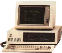 PC vinde de la Personal computer, initial un brand IBM.