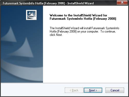 3DMark SystemInfo Hotfix