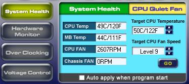 Asrock system health