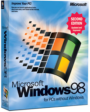 Windows 98 Second Edition