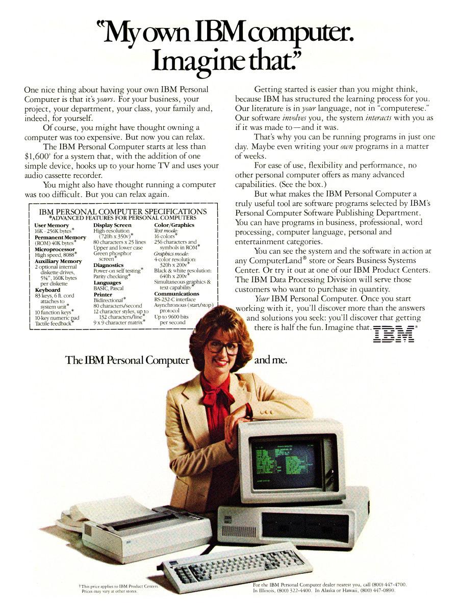 IBM PC 5150 1981